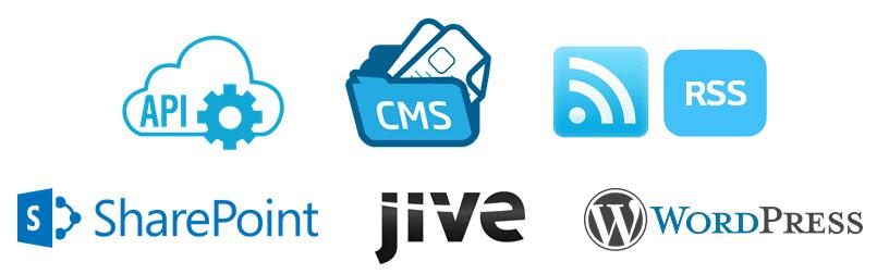 employee app content integrations