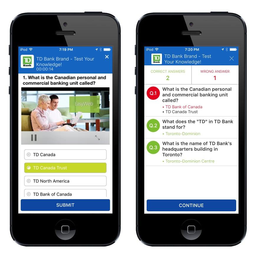 hubengage-quiz-learning-development-enterprise-mobile